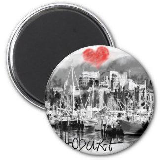 I love Hobart Magnet