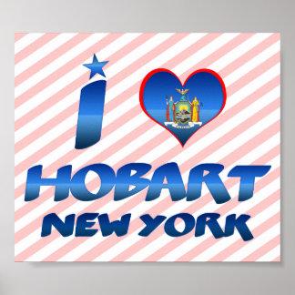 I love Hobart, New York Poster