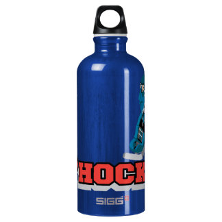 I Love Hockey BPA FREE Water Bottle