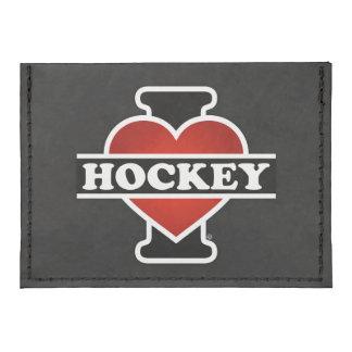 I Love Hockey Tyvek® Card Wallet