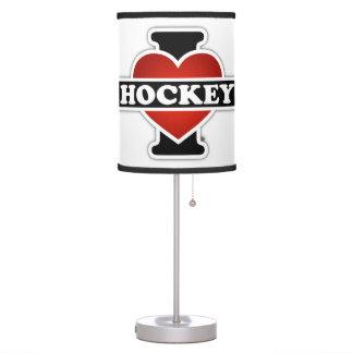 I Love Hockey Desk Lamp