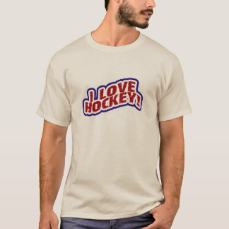 I  Love Hockey T-shirts and Gifts