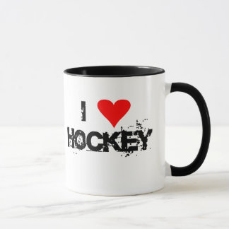 I love hockey T-shirts and Gifts. Mug