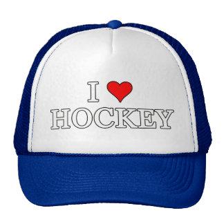 I Love Hockey Trucker Hat