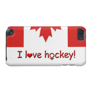 I Love Hockey!/Womens/Girls Hockey iPod Touch (5th Generation) Cover