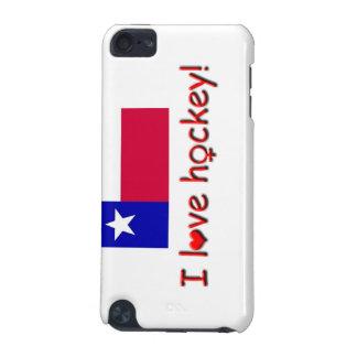 I Love Hockey!/Womens/Girls Hockey+Texas Flag iPod Touch (5th Generation) Cover