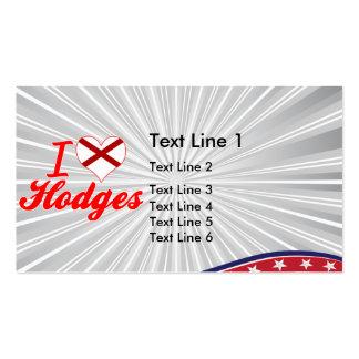 I Love Hodges Alabama Business Card Templates