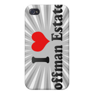 I Love Hoffman Estates, United States iPhone 4 Covers
