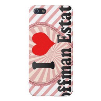 I Love Hoffman Estates, United States Cover For iPhone 5
