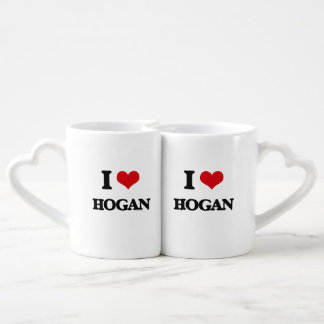 I Love Hogan Couples' Coffee Mug Set