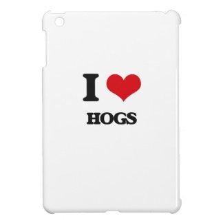 I love Hogs Case For The iPad Mini