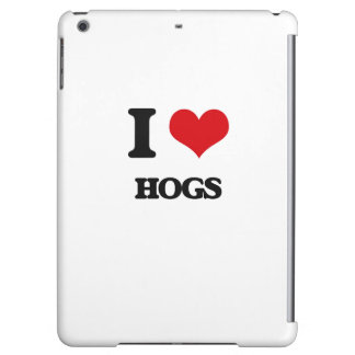 I love Hogs Cover For iPad Air