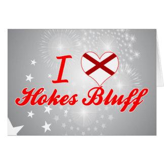 I Love Hokes Bluff, Alabama Greeting Card