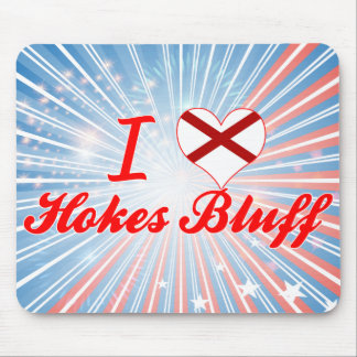 I Love Hokes Bluff, Alabama Mousepads