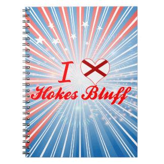 I Love Hokes Bluff, Alabama Notebook
