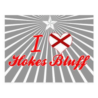I Love Hokes Bluff, Alabama Postcard