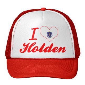 I Love Holden, Massachusetts Trucker Hat