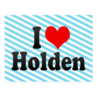 I love Holden Postcard