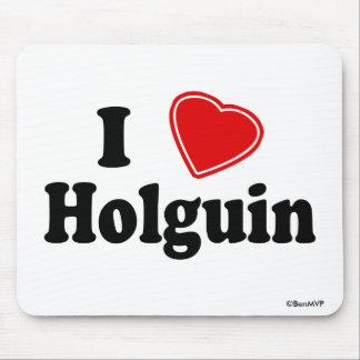 I Love Holguin Mouse Pad