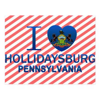 I Love Hollidaysburg, PA Postcard