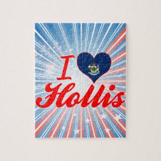 I Love Hollis, Maine Puzzle