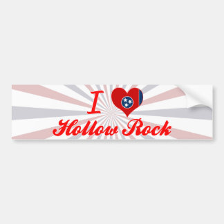 I Love Hollow Rock, Tennessee Bumper Stickers
