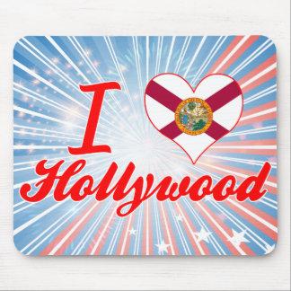 I Love Hollywood, Florida Mousepad
