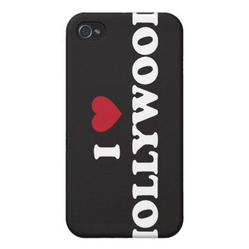 I Love Hollywood iPhone 4 Case
