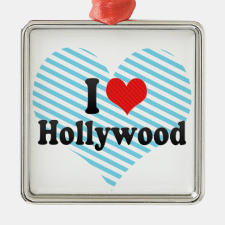 I Love Hollywood Ornament