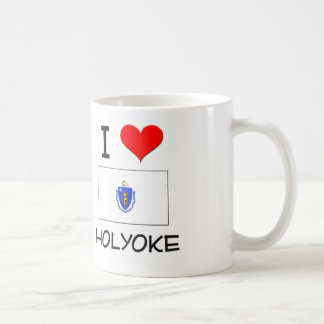I Love Holyoke Massachusetts Classic White Coffee Mug