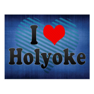 I Love Holyoke, United States Postcard