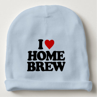 I LOVE HOME BREW BABY BEANIE