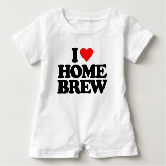 I LOVE HOME BREW BABY ROMPER