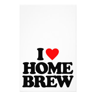 I LOVE HOME BREW FLYER