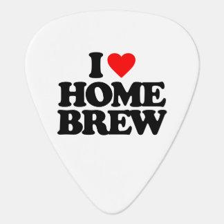 I LOVE HOME BREW GUITAR PICK