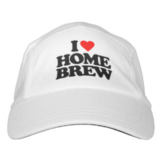 I LOVE HOME BREW HEADSWEATS HAT