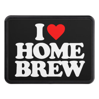 I LOVE HOME BREW HITCH COVER