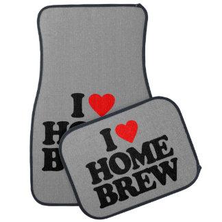 I LOVE HOME BREW FLOOR MAT