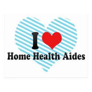 I Love Home Health Aides Postcard