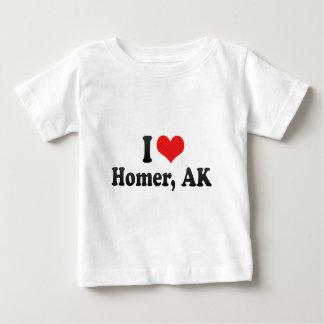 I Love Homer, AK Infant T-shirt