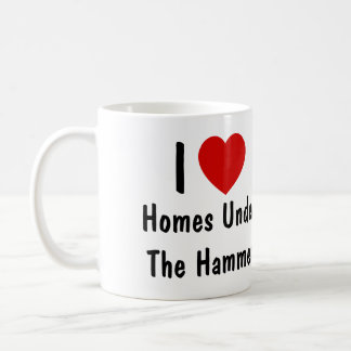 I Love Homes Under The Hammer Coffee Mug