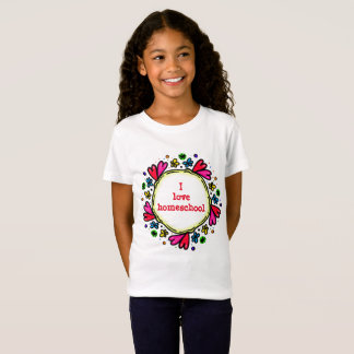 I love homeschool hearts T-Shirt