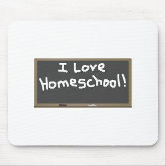 I Love Homeschool! Mouse Pad