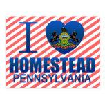 I Love Homestead, PA Postcards