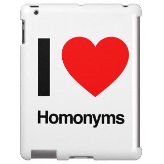 i love homonyms