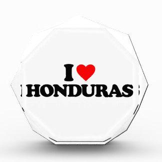 I LOVE HONDURAS ACRYLIC AWARD