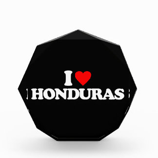 I LOVE HONDURAS AWARD