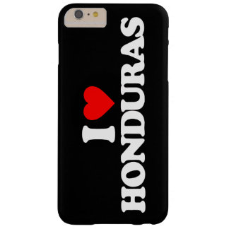 I LOVE HONDURAS BARELY THERE iPhone 6 PLUS CASE
