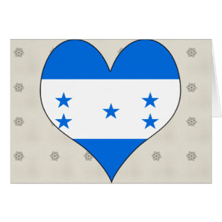 I Love Honduras Card