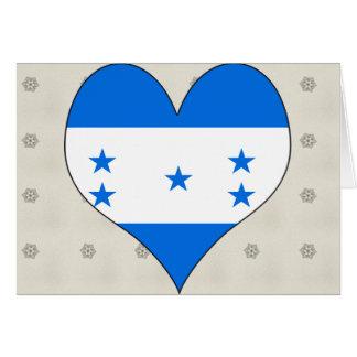 I Love Honduras Card